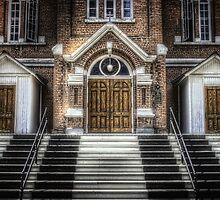 The Church Doors by Myron Watamaniuk