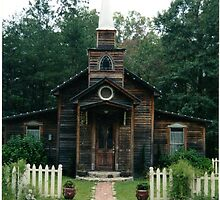 Front View of Ol' Church by johntbell