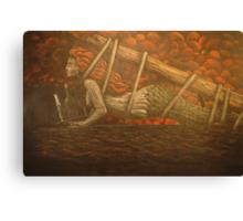 Mermaid Waitress Canvas Print