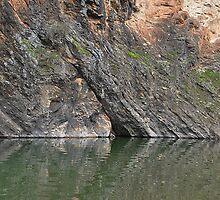 Wallaby Rocks, Turon River NSW Australia by Bev Woodman