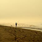 lone fisherman by strypes