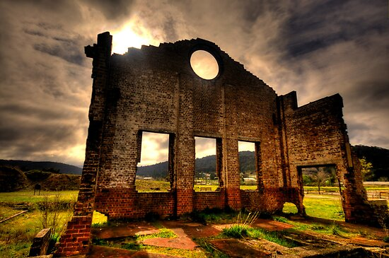 Better Times - Blast Furnace Park -, Lithgow NSW Australia - The HDR Experience by Philip Johnson
