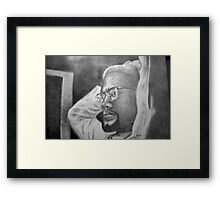 The X Factor - The Real Malcolm X Framed Print