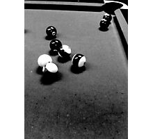 Down At The Pool Hall - 1 Photographic Print