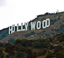 Hollywood Sign - L.A. by JD Delgado