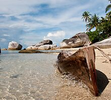 Washed Ashore at Belitung (1/2) by ferryvn