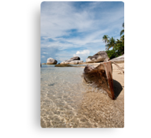 Washed Ashore at Belitung (1/2) Canvas Print