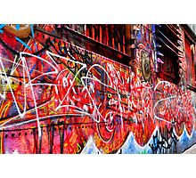 street art | melbourne Photographic Print