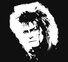 Jareth's Face - White - Labyrinth by Jon Winston