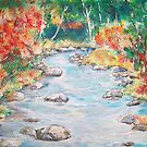 Autumn Creek  by Mary Sedici