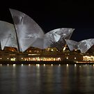 Silver Sails on the Water by MaluMoraza