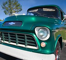 '55 Chevy Panel Truck by chuckbruton