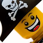 Happy Lego Pirate by Kevin  Poulton - aka &#x27;Sad Old Biker&#x27;