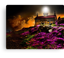 Cresent City Lighthouse Canvas Print