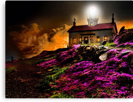 Cresent City Lighthouse by pdsfotoart