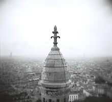 Sacre Coeur, Paris by Ben Hansen
