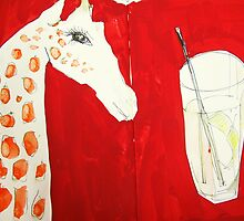 giraffe and tonic by donnamalone