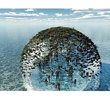 Eco-Sphere Photographic Print