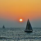 Sunset View from Redondo Beach Pier (Los Angeles) by Anusheel Verma