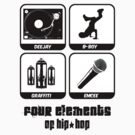 Four Elements of Hip-Hop by Paul Welding