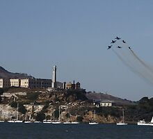 The Rock - Blue Angels Style by fototaker