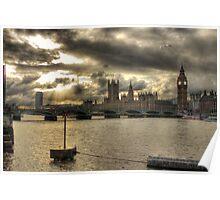 Westminster Bridge - London, England Poster