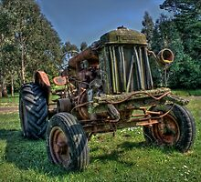 Fordson Tractor by Scott Sheehan