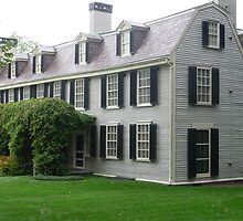 Peacefield, home of John Adams by nealbarnett
