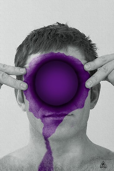 Purple Hole by Mark Skay