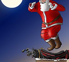 New clubs for Christmas by Phillip  McCordall