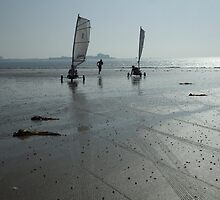 Fun on the beach by Pigglepum