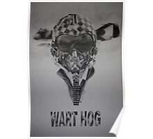 WART HOG Poster