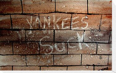 yankees suck by pinetreeart