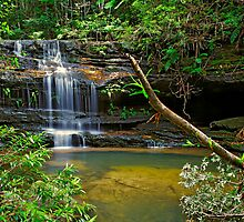 Little Terrace Falls by VanceRoyce