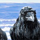 Ravens on the Coast by Brandon S.