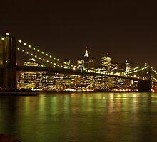 Luci serali a New York by Andrea Rapisarda
