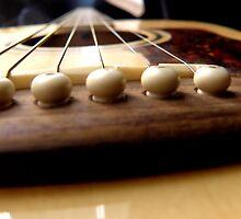 Guitar series #3 by Sue Hays