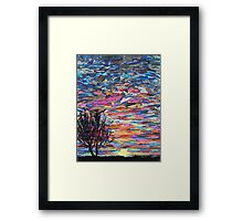 Sunset (please view large)  Framed Print