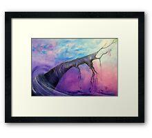 Purple Cure (Best Viewed Large) Framed Print