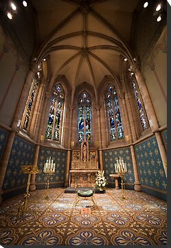 St Patrick's Cathedral - Interior by Gavin Poh