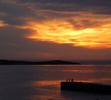 evening at Bunbeg Donegal by chrisdeschepper