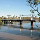 The North Bourke Bridge. by Ross Campbell