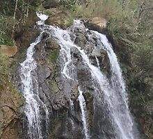 waterfall in Sapa by Julie Harris