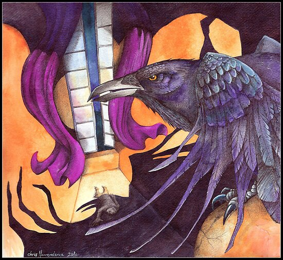 The Raven / Nevermore  by Chris Harrendence