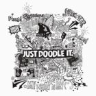 Just Doodle it_BLK by kdigraphics