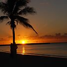 Sunrise in Key West Florida by Susanne Van Hulst