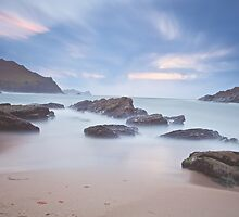 Evening at Clogher Head by Paul Lanigan
