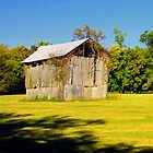 Old Hay Barn in Boxley Valley near Ponca,Arkansas by David  Hughes