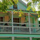 Hammock time in Key West Florida by Susanne Van Hulst