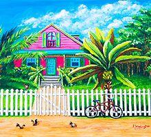 Caribbean Life by kwoolingtonart